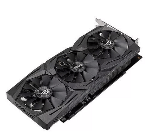 Placa De Video Asus Radeon Rx 580 8gb Strix Gaming Rog en internet