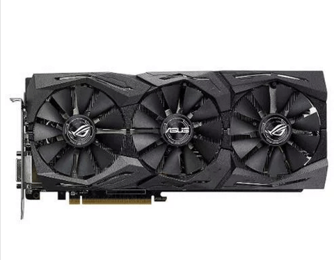 Placa De Video Asus Radeon Rx 580 8gb Strix Gaming Rog - OFERTAMAYOR