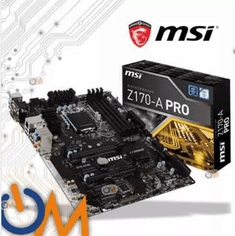 Mother Msi Z170 A Pro Lga 1151 **ddr4** Ultima Generacion !!
