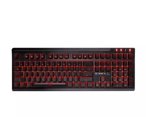 Teclado Gamer Gskill Ripjaws Km570 Mx Mecanico Brown O Red - OFERTAMAYOR