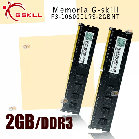 Memoria Gskill High Performance 2gb Ddr3 1333 Mhz. en internet