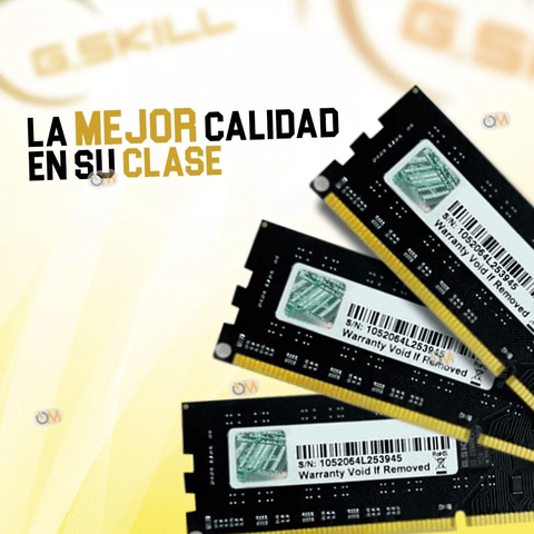 Memoria Gskill High Performance 2gb Ddr3 1333 Mhz. - OFERTAMAYOR