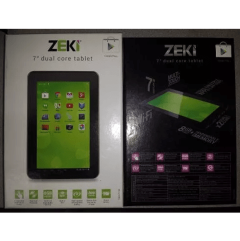 Tablet Pc 7 Android 8gb Wifi Camara Hdmi + Auricular Regalo - OFERTAMAYOR