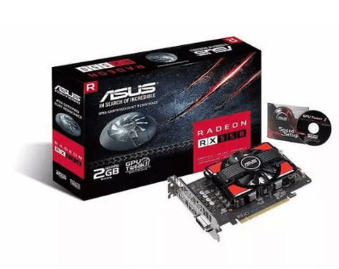 Placa De Video Asus Amd Radeon Rx 550 2gb - tienda online