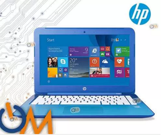 Laptop Notebook Hp Stream 13 Intel 32gb 2gb Win10 Blue Hdmi
