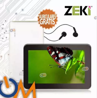 Tablet Pc 7 Android 8gb Wifi Camara Hdmi + Auricular Regalo!
