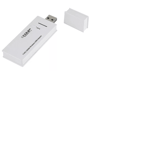 Adaptador Wifi Usb 1200mbps Dual Band 2.4 5.8ghz Mtk 7612 - comprar online