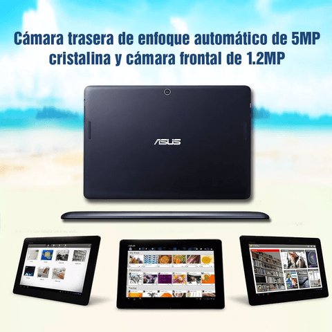 Tablet Asus 10 Pulgadas Hd 16gb. Dual Cam Android Azul Oscur en internet