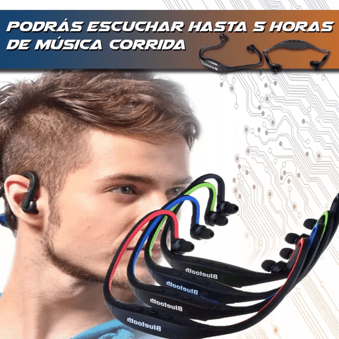 Auricular Estéreo In-ear Deporte S9 Bluetooth 4.0 Mp3 Mic en internet