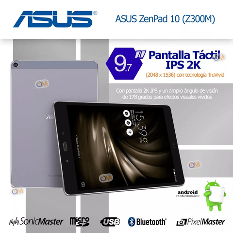 Tablet Asus Zenpad 10 Z500m 4gb Ram 64gb Hexacor Dualcam