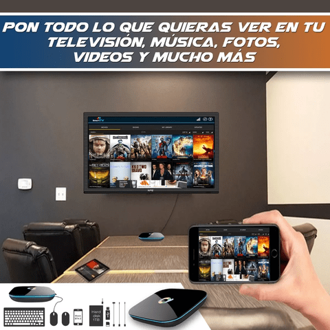 Smart Tv Box Qbox 4k A9 2 Gb 16 Gb S905x Quadcore Android en internet