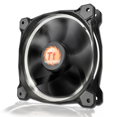 Cooler Fan Thermaltake 120mm Led Riing Blanco