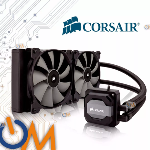 Cooler Corsair H110i Hydro Series Refrig Liquida Intel Am4
