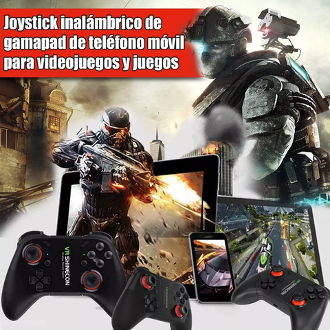 Joystick Gamepad Shinecon Smart Tv Celular Pc Bluetooth 3 - comprar online
