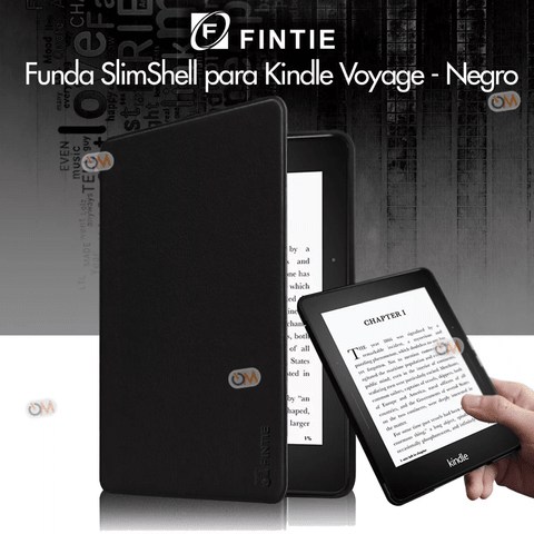 Funda Cover E-book Fintie Amazon Kindle Voyager Negro