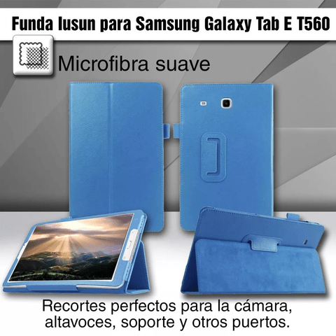 Funda Cover Ebook Samsung Galaxy Tab E T560 - OFERTAMAYOR