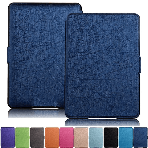 Funda Cover Book Cuero Pu Slim Amazon Kindle Touch 558