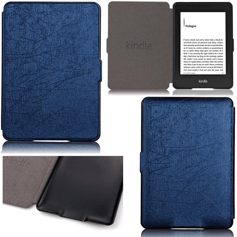 Funda Cover Book Cuero Pu Slim Amazon Kindle Touch 558 - comprar online