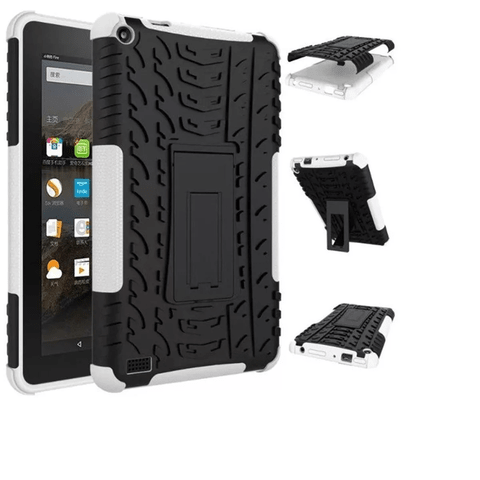 Funda Hibrida Tablet Amazon Kindle Fire 7 Tpu + Pc Sopor