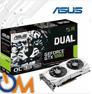 Placa Video Nvidia Geforce Gtx 1060 Gtx1060 3gb Asus