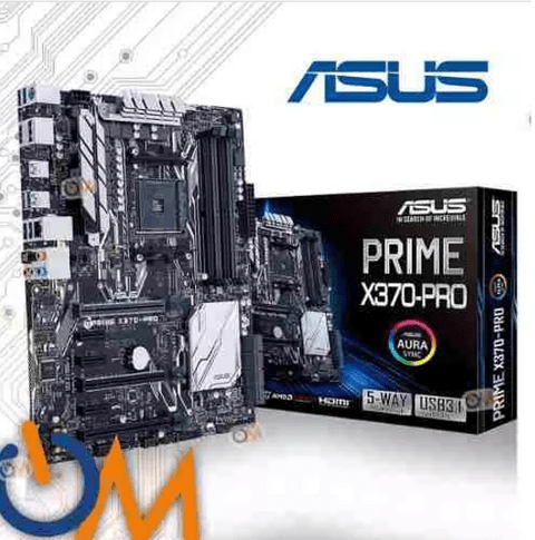 Mother Asus Prime X370-pro Am4 Ryzen Nuevo Modelo