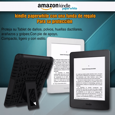 Amazon Kindle Paperwhite Luz Con Funda Regalo en internet