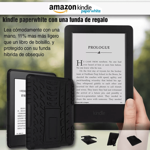 Amazon Kindle Paperwhite Luz Con Funda Regalo - OFERTAMAYOR