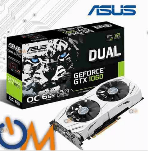 Placa Video Nvidia Geforce Gtx 1060 Gtx1060 6gb Asus Oc