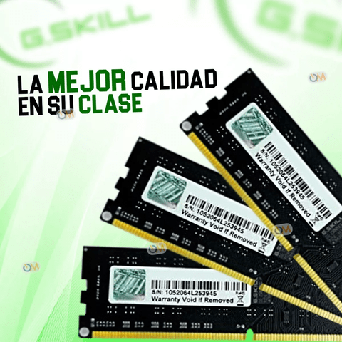 Memoria Gskill Ddr3 1600mhz 8gb High Performance en internet