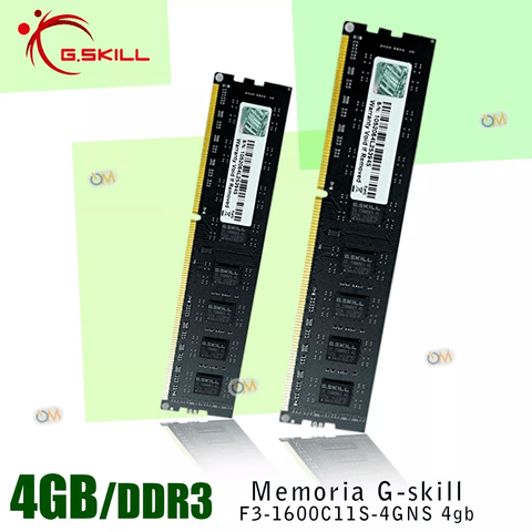 Memoria Gskill Ddr3 1600mhz 8gb High Performance - OFERTAMAYOR