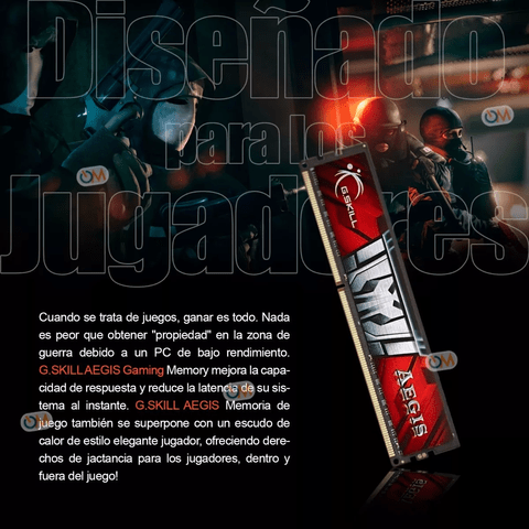 Memoria Aegis Ddr3 8gb 1600mhz Gamers en internet