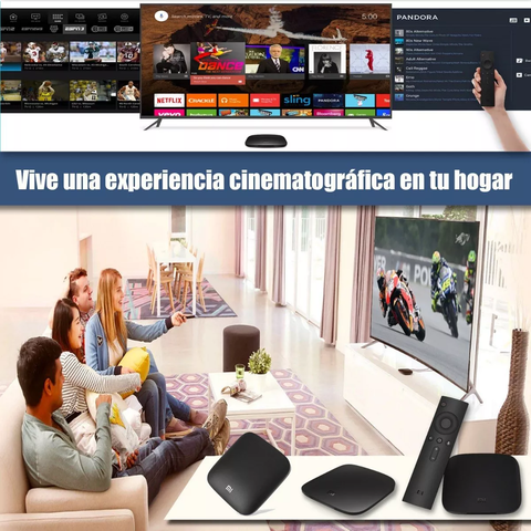 Smart Tv Box Xiaomi Mi S Box 4k 2gb 8gb Internacional, 8.1 control con voz. - OFERTAMAYOR