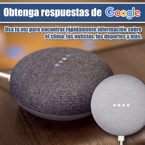 Google Home Mini Asistente Virtual Manos Libres en internet