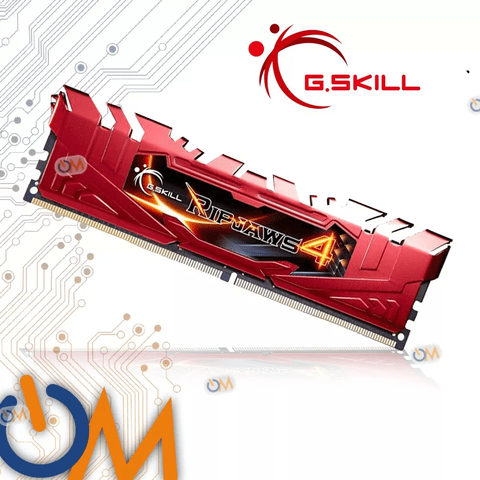 Memoria Gskill Ripjaws 4 Ddr4 2400mhz 4x4gb 16gb Gamers