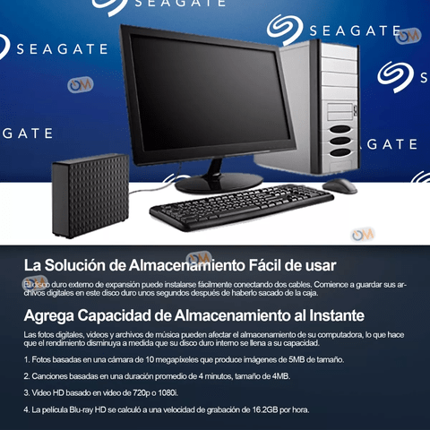 Disco Rigido Externo Seagate Expansion 8tb Usb 3.0 en internet