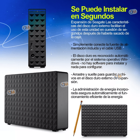 Disco Rigido Externo Seagate Expansion 8tb Usb 3.0 - OFERTAMAYOR