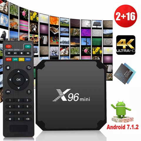 Smart Tv Box X96 Mini 2gb 16gb Quadcore S905w Android 7.1 - comprar online