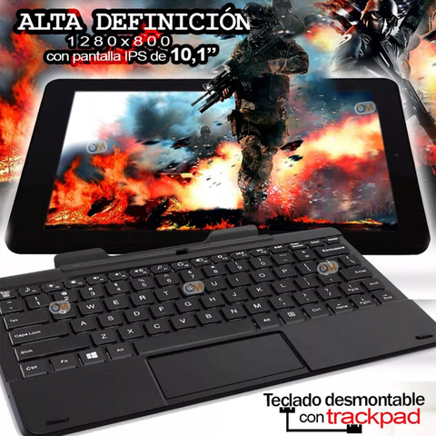 Tablet Rca Viking Pro 10 32gb 2 En 1 Android Quad Teclado en internet