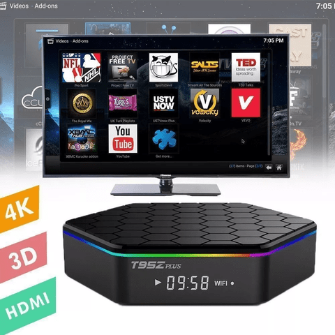 Smart Tv Box T95z Plus 2gb 16gb Octa Core S912 Android 7.1 - comprar online