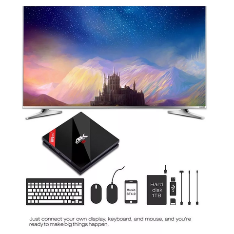 Tv Box H96pro + Plus Octa Core S912 3gb 16gb + Air Mouse - OFERTAMAYOR