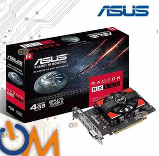 Placa De Video Asus Amd Radeon Rx 550 4gb
