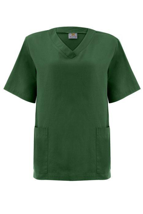 Blusa Pijama Cirúrgico Scrub Feminino 1500 MADELEINE Algodão 100% Verde  Hospitalar 2af0556d8846a