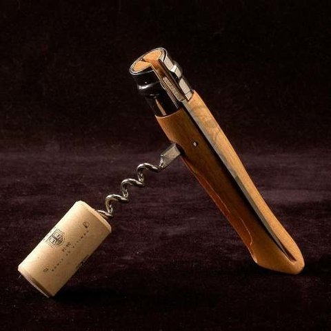 Navaja plegable N°10 Inoxidable Con Sacacorchos,Opinel. - Mad World Shop
