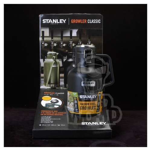 Termo Growler Stanley Cerveza Artesanal  1,9 L.bpfree Negro!