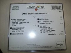 Cd - James Brown - Live In Concert - Importado - Usado na internet