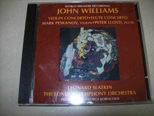 Lp - John Williams - Violin Concerto E Flute Concerto - Imp.