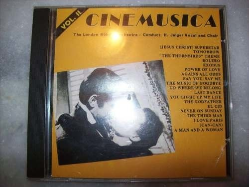 Cd - Cinemusica - Volume 2 - Nacional - Usado
