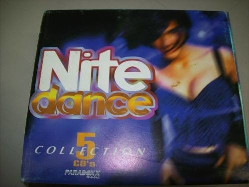 Cd - Nite Dance Collection - Box 5 Cds - Nacional - Usado