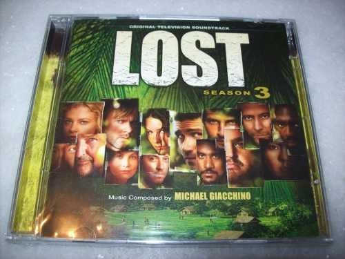 Cd - Lost - Season 3 - Michael Giacchino -importado- Lacrado
