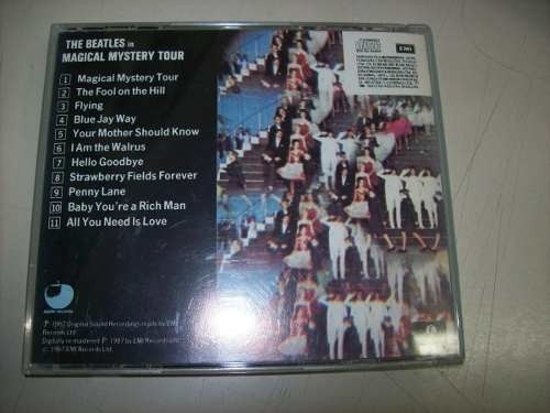 Cd - The Beatles - Magical Mystery Tour - Nacional - Usado na internet
